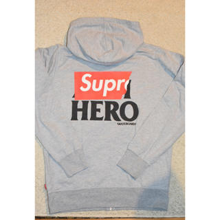シュプリーム(Supreme)のSUPREME × ANTI HERO ZIP UP HOODED 14SS(パーカー)