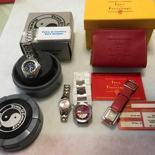 タウンアンドカントリー(Town & Country)の腕時計 レディース ジャンク品4点(腕時計)