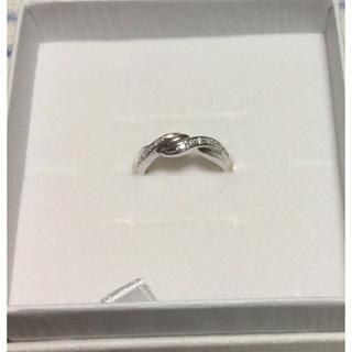 ジュエリーツツミ(JEWELRY TSUTSUMI)のK14WG ダイヤモンドリング(リング(指輪))