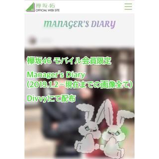 ケヤキザカフォーティーシックス(欅坂46(けやき坂46))の欅坂46 マネージャー日記 画像(アイドルグッズ)