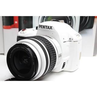 ペンタックス(PENTAX)の❤️超人気ホワイトカラー❤️PENTAX K-x レンズキット(デジタル一眼)