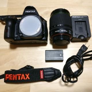 ペンタックス(PENTAX)の【美品】PENTAX デジタル一眼レフカメラ K-30 レンズキット(デジタル一眼)