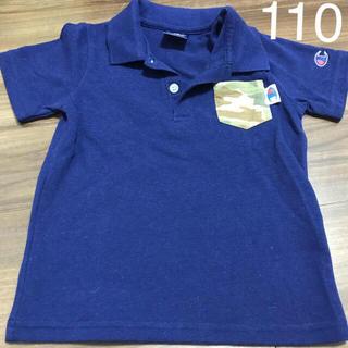 チャンピオン(Champion)のused♡チャンピオン ポロシャツ 110cm  ブルーネイビー(Tシャツ/カットソー)