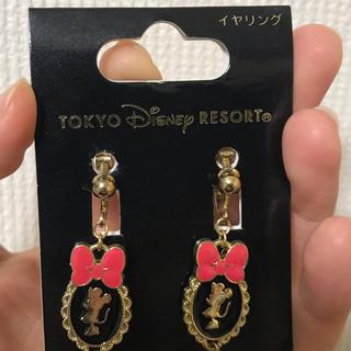 ディズニー(Disney)のミニーちゃん イヤリング(イヤリング)