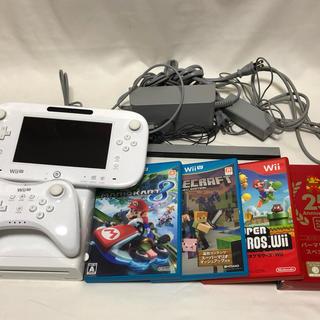 Wii U - 【超美品!】WiiU本体+プロコントローラー+ソフト4本セット