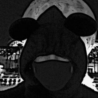 ディズニー(Disney)のミッキー フードネックウォーマー ディズニーランド(ネックウォーマー)