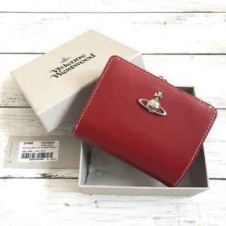 ヴィヴィアンウエストウッド(Vivienne Westwood)のやちゅりん様専用新品/18AW♡VivienneWestwoodがま口折り財布赤(財布)