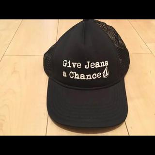 ボルコム(volcom)のvolcom✴️NEWERA キャップ 帽子  cap 黒(キャップ)