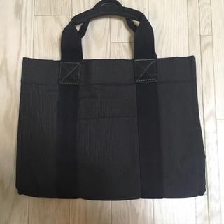 MUJI (無印良品) - 無印 ベーシックトートバッグ ブラック フォーマル