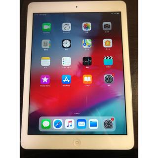 アイパッド(iPad)のアイパッドAIR wifiモデル 32GBシルバー(タブレット)