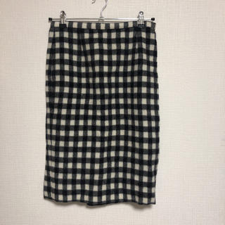 シェル(Cher)の【未使用】チェックスカート(ひざ丈スカート)