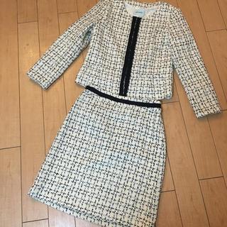シューラルー(SHOO・LA・RUE)のシューラルー スーツ 入学式 入園式  M レディース ママスーツ(スーツ)