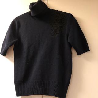 ヌメロヴェントゥーノ(N°21)の美品  ニット N°21 タートルネック ブラック(ニット/セーター)