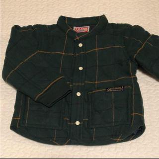 エフオーキッズ(F.O.KIDS)の新品 F.O.KIDS 中綿入り チェックシャツ(ジャケット/上着)