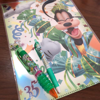 ディズニー(Disney)の【セット売り☻】ディズニーランド 35周年グランドフィナーレ グーフィー (キャラクターグッズ)