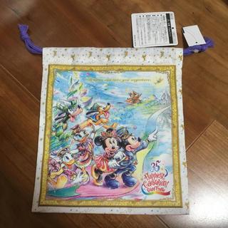 ディズニー(Disney)のディズニー 35周年 グランドフィナーレ 巾着(キャラクターグッズ)