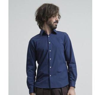 ステュディオス(STUDIOUS)の定価12000 UNITED TOKYO マルチストレッチブロードシャツ 青(シャツ)