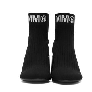 エムエムシックス(MM6)の新品未使用★★MM6  ヒールソックスブーツ(ブーツ)