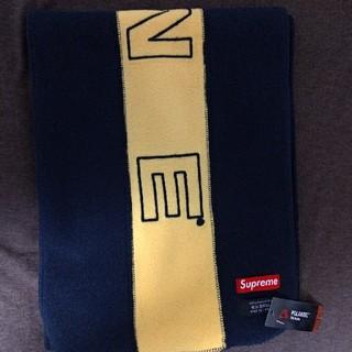 シュプリーム(Supreme)のSupreme 18aw Polartec Logo Scarf(バンダナ/スカーフ)