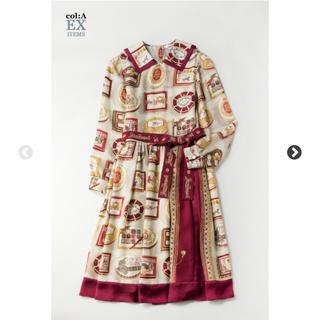 ジェーンマープル(JaneMarple)のRoyal chocolateのコレットドレス(ひざ丈ワンピース)