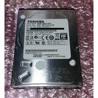 トウシバ(東芝)の東芝 SSHD MQ01ABD100H 1TB SLC NAND搭載(PCパーツ)