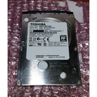 トウシバ(東芝)の東芝 SSHD MQ01ABF050H 500GB SLC NAND搭載(PCパーツ)