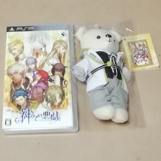 プレイステーションポータブル(PlayStation Portable)の【PSP】神々の悪戯+くまめいと(携帯用ゲームソフト)