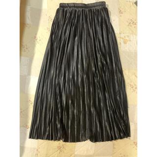 スピンズ(SPINNS)のスピンズプリーツスカート(ひざ丈スカート)