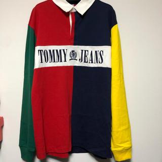 トミーヒルフィガー(TOMMY HILFIGER)のtommy jeans ポロシャツ tommy hilfiger ラグビーシャツ(ポロシャツ)