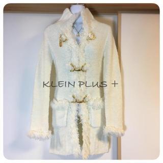 クランプリュス(KLEIN PLUS)のKLEIN Plus+♡ロングカーディガン ニットコート(ニットコート)