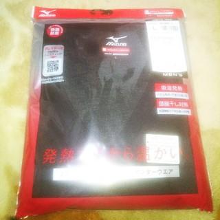 ミズノ(MIZUNO)のミズノ ブレスサーモエブリ ラウンドネック長袖シャツ メンズLサイズ (Tシャツ/カットソー(七分/長袖))