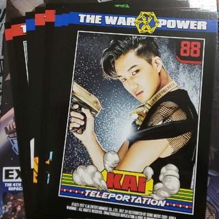 エクソ(EXO)のEXO「THE WAR」大判トレカ(K-POP/アジア)