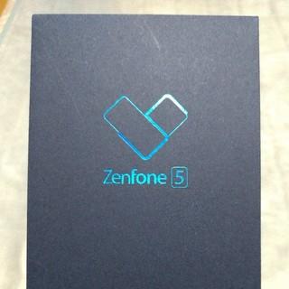 エイスース(ASUS)のZenfone5  ZE620KL 本体 ムーンライトホワイト 新品未開封(スマートフォン本体)