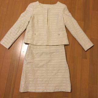 ナチュラルビューティーベーシック(NATURAL BEAUTY BASIC)の入学式に是非♡ツィードスーツ(スーツ)