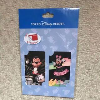 ディズニー(Disney)のTDS ビッグバンドビート 実写 ICカードステッカー ディズニー(キャラクターグッズ)