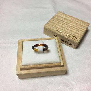 スティーブンアラン(steven alan)の大澤鼈甲 リング 指輪 ユナイテッドアローズ スティーブンアラン (リング(指輪))