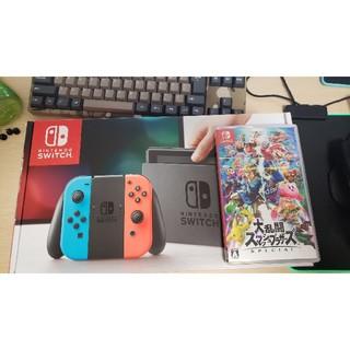 ニンテンドースイッチ(Nintendo Switch)の任天堂スイッチ スマブラ付き(家庭用ゲーム本体)