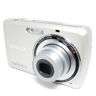 ペンタックス(PENTAX)の❤超美品♪&Wi-Fiでスマホに写真転送できる‼❤Pentax Opto E70(コンパクトデジタルカメラ)