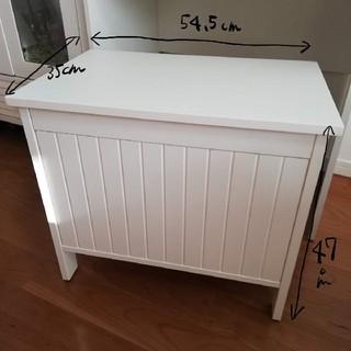 イケア(IKEA)の【送料込み!】IKEA 収納付きベンチチェア(リビング収納)