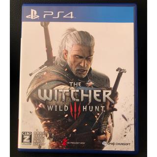 PlayStation4 - ウィッチャー3ワイルドハント【未使用品】