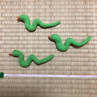 イケア(IKEA)のイケア ソフトトイ へび ぬいぐるみ(ぬいぐるみ/人形)