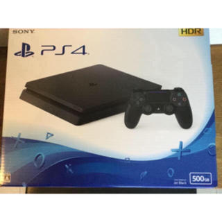 PlayStation4 - 3年保証 PS4本体 薄型 HDR ブラック 黒 CUH-2100A 500GB