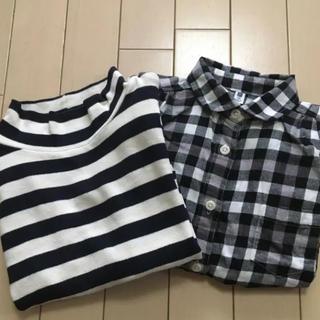 ムジルシリョウヒン(MUJI (無印良品))の女の子 まとめ売り 110 120 無印、ユニクロ、H&M(Tシャツ/カットソー)