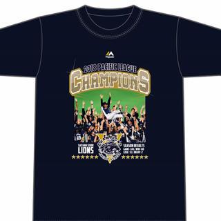 サイタマセイブライオンズ(埼玉西武ライオンズ)の埼玉西武ライオンズ2018年優勝記念Tシャツ(記念品/関連グッズ)