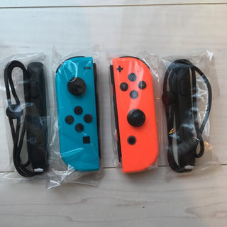Nintendo Switch - ニンテンドースイッチ ジョイコンとストラップセット