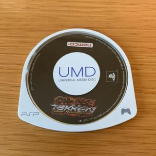 プレイステーションポータブル(PlayStation Portable)のPSPソフト namco 鉄拳(家庭用ゲームソフト)