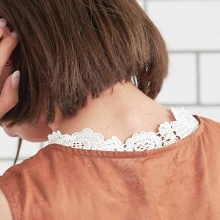 クチュールブローチ(Couture Brooch)の新品タグ付きレースタンクトップ(タンクトップ)