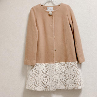 クチュールブローチ(Couture Brooch)のノーカラーコート(ノーカラージャケット)