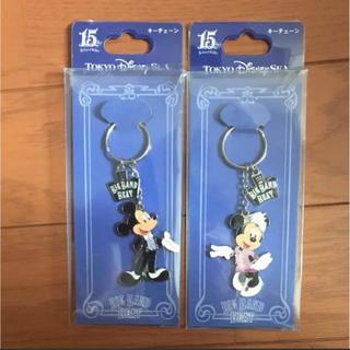 ディズニー(Disney)のTDS ビッグバンドビート キーチェーン ミッキー ミニー BBB ディズニー(キャラクターグッズ)