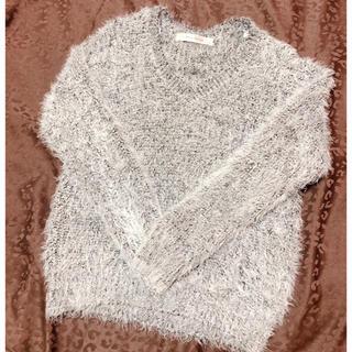 しまむら - シャギーニット フェザーヤーン セーター